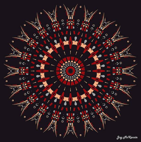 Psychedelia Digital Art - All Arrows Hit The Bullseye by Joy McKenzie