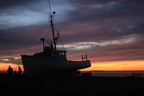 Photograph - All Ashore by David Matthews