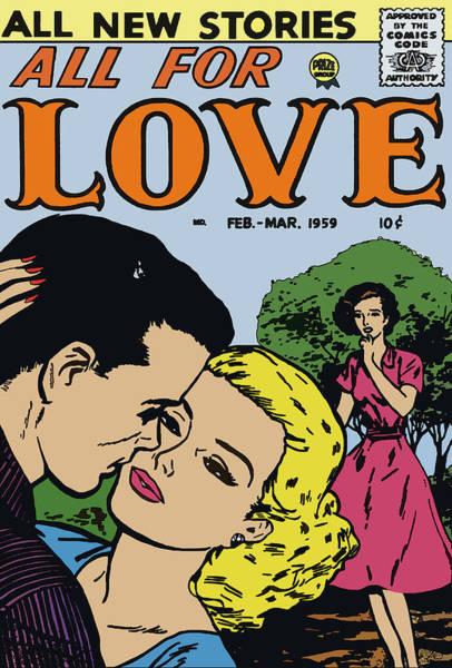 Digital Art - All For Love 7 by Joy McKenzie