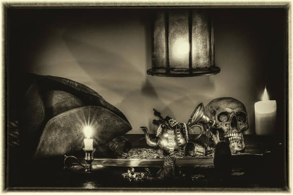 Wall Art - Photograph - All For The Captain B/w by Hans Zimmer