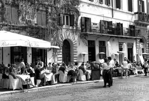 Photograph - All Full In Rome by John Rizzuto