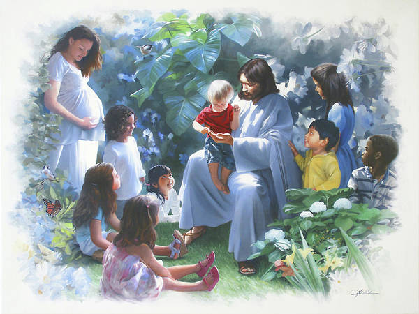 Wall Art - Painting - All God's Children by Danny Hahlbohm