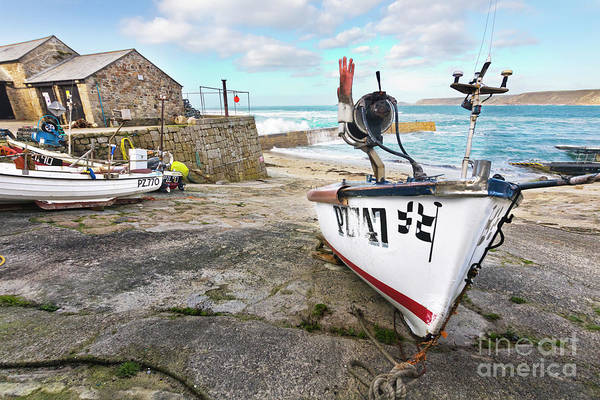 Sennen Cove Photograph - All Hands On Deck by Terri Waters