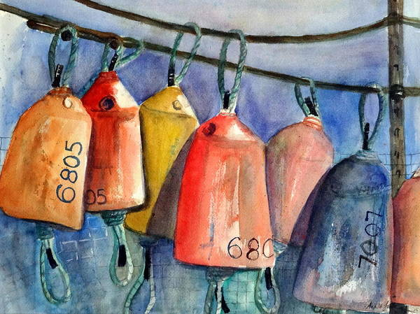 Painting - All Hung Up by Anna Jacke