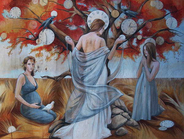 Wall Art - Painting - All In Good Nature's Time by Jacque Hudson