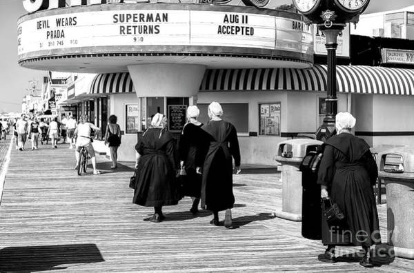 Down The Shore Photograph - All Love The Shore At The Ocean City Boardwalk by John Rizzuto