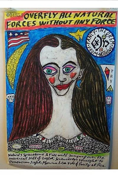 Wall Art - Painting - All Natural Forces Monna Lisa by Francesco Martin