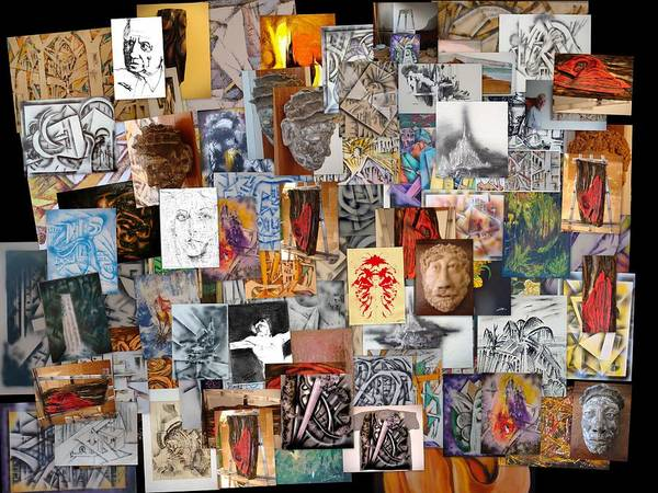 Photograph - All Of It Collage by Eugene Foltuz