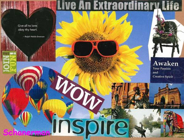 All Of Life Can Inspire Art Print
