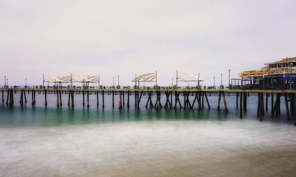 Photograph - All Quiet On Redondo Pier by Michael Hope