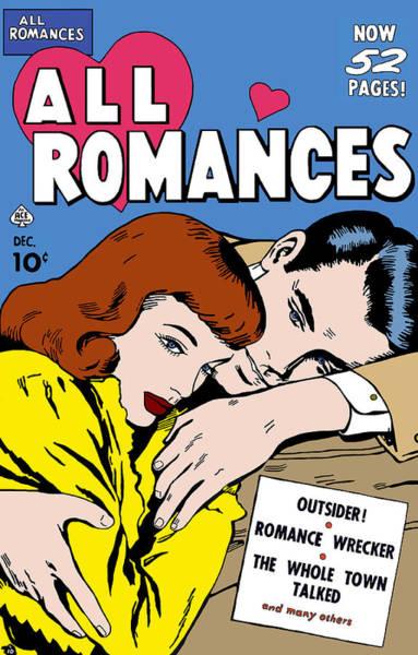 Digital Art - All Romances Comic Book 5 by Joy McKenzie