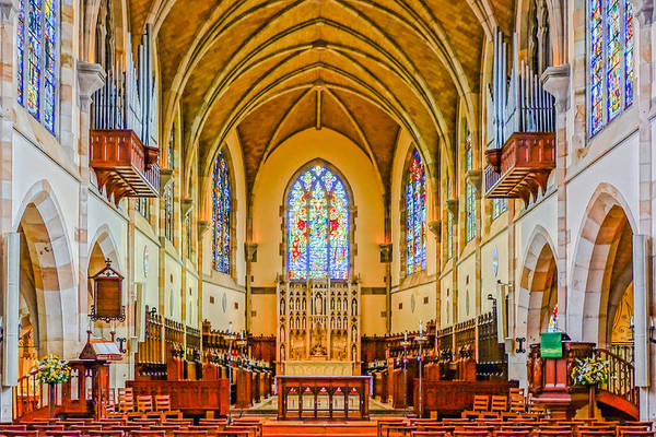 All Saints Chapel, Interior Art Print