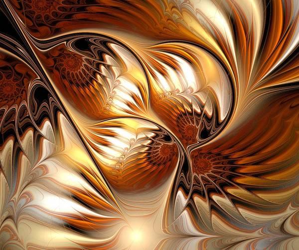 Digital Art - All That Gold by Anastasiya Malakhova