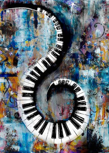 Hallway Mixed Media - All That Jazz by Wayne Cantrell