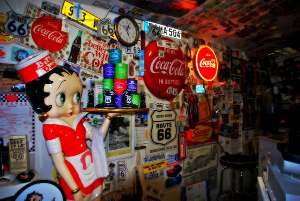 Photograph - All The Souvenirs Of Route 66  by Susanne Van Hulst