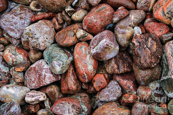 Photograph - All The Stones by Rachel Cohen