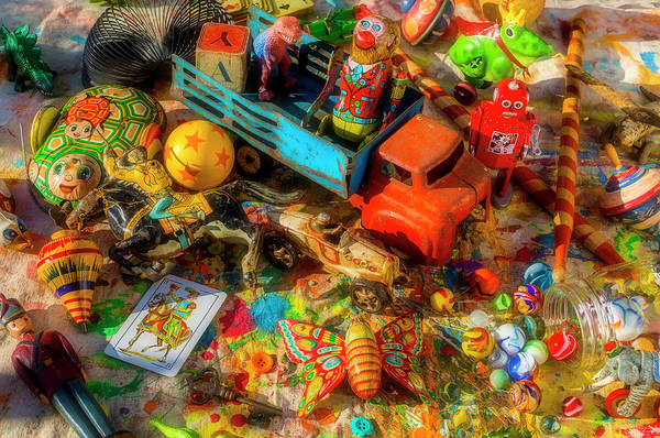 Wall Art - Photograph - All The Toys In The Toy Box by Garry Gay