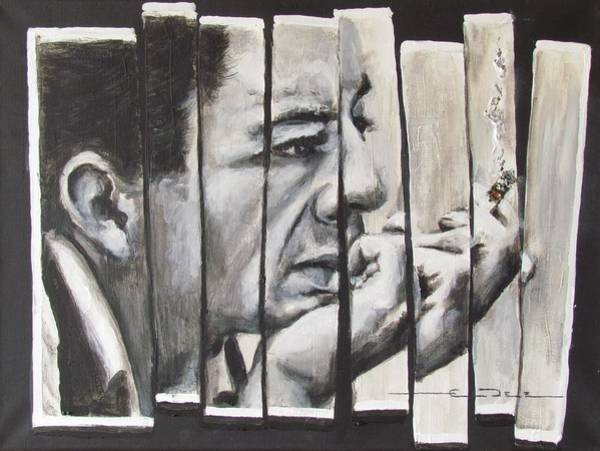 Painting - All Together Johnny Cash by Eric Dee