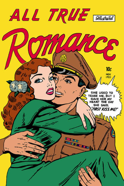 Digital Art - All True Romance 2 by Joy McKenzie