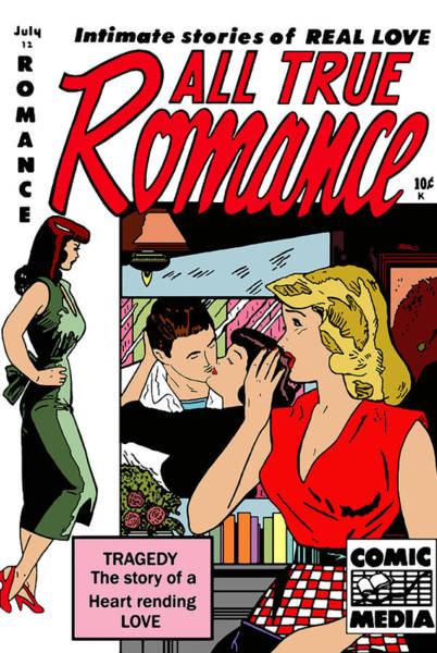 Digital Art - All True Romances 5 by Joy McKenzie