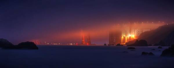 Photograph - All Upon A Foggy Night by Quality HDR Photography
