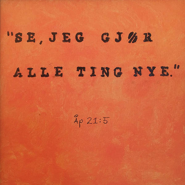 Painting - Alle Ting Nye by Thomas Olsen