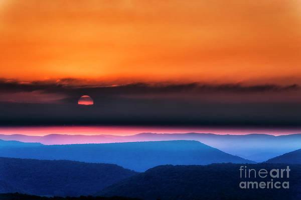 Wall Art - Photograph - Allegheny Mountain Sunrise 2 by Thomas R Fletcher