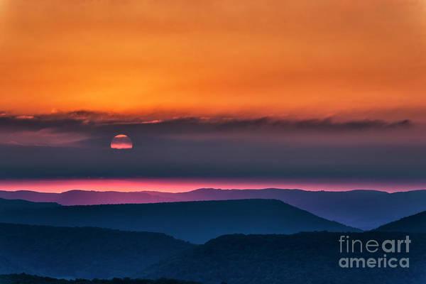 Wall Art - Photograph - Allegheny Ridges At Sunrise by Thomas R Fletcher
