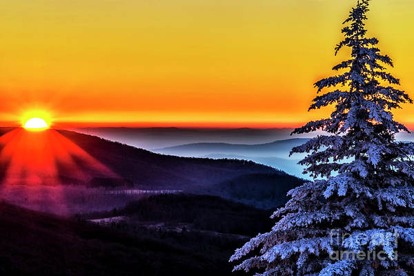 Photograph - Allegheny Sunrise In Winter  by Thomas R Fletcher