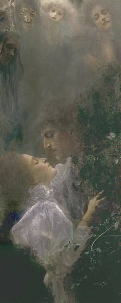 Gustav Klimt Painting - Allegory Of Love by Gustav Klimt