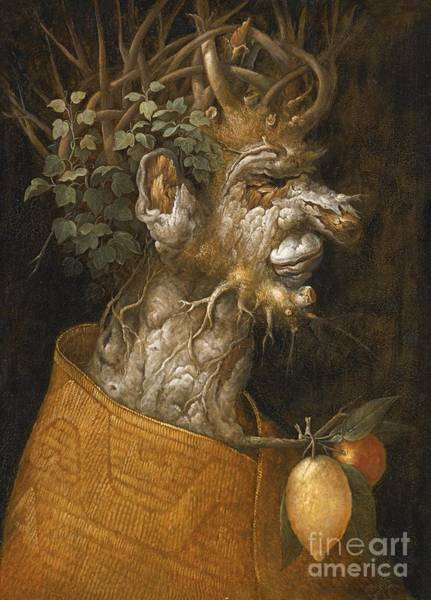 Painting - Allegory Of Winter by Giuseppe Arcimboldo