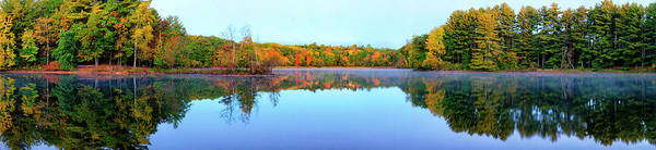 Photograph - Allen Lake by CA Johnson