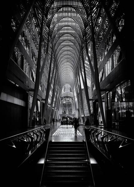 Photograph - Allen Lambert Galleria Toronto Canada No 1 by Brian Carson