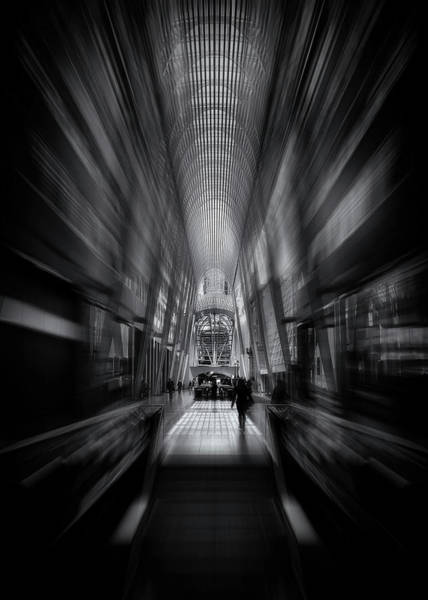 Photograph - Allen Lambert Galleria Toronto Canada No 1 Flow Version by Brian Carson