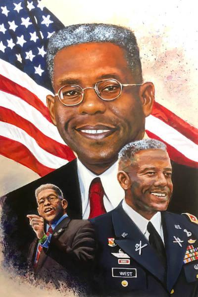 Member Of Congress Wall Art - Painting - Allen West by Robert Korhonen