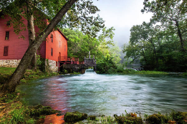 Photograph - Alley Spring Water Mill In Missouri by Gregory Ballos