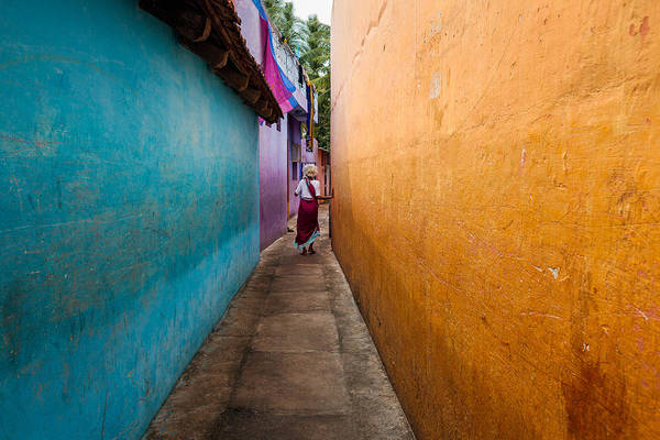 Photograph - Alleyway by Marji Lang