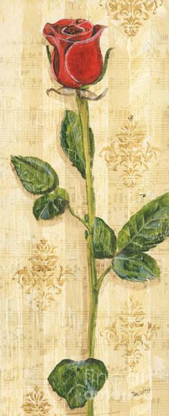 Wall Art - Painting - Allie's Rose Sonata 2 by Debbie DeWitt