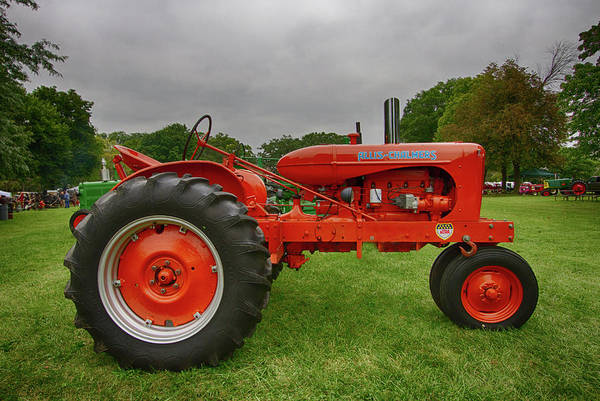 Wall Art - Photograph - Allis Chalmers Tractor 1947 by Mike Burgquist