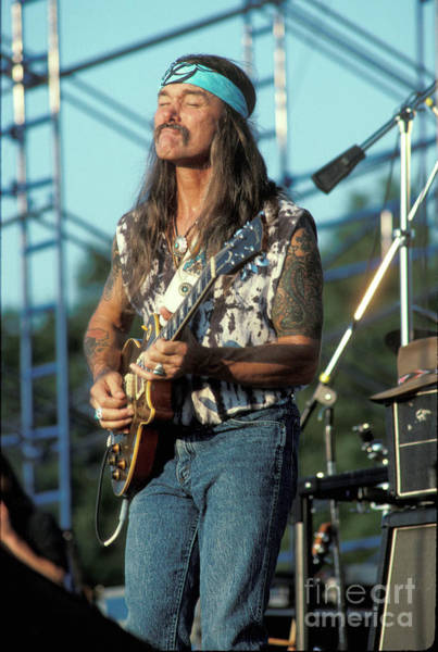 Wall Art - Photograph - Allman Brothers Band Dickey Betts by Concert Photos