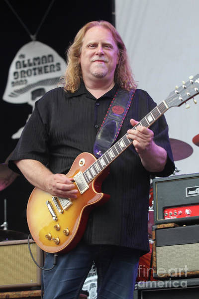 Allman Brothers Band Photograph - Allman Brothers Band Warren Haynes by Concert Photos