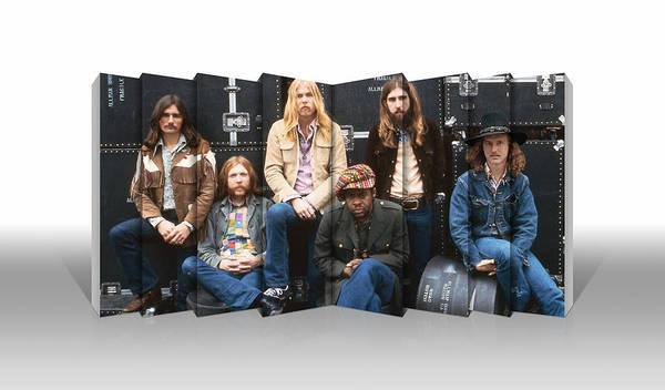 The Allman Brothers Band Wall Art - Mixed Media - Allman Brothers by Love Art