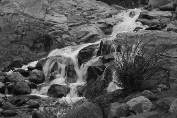 Photograph - Alluvial Fan 1 Bw by Dimitry Papkov
