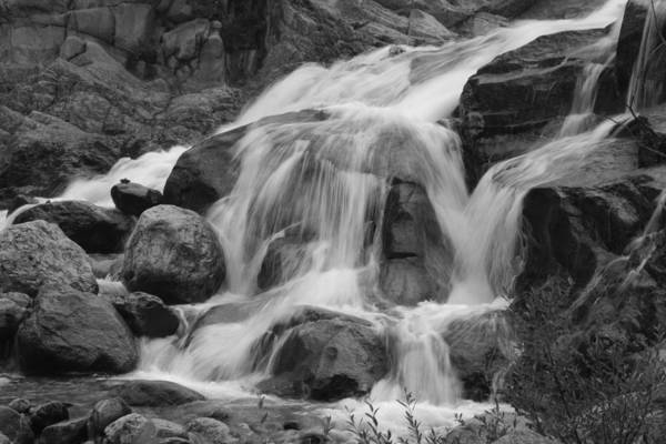 Photograph - Alluvial Fan 2 Bw by Dimitry Papkov
