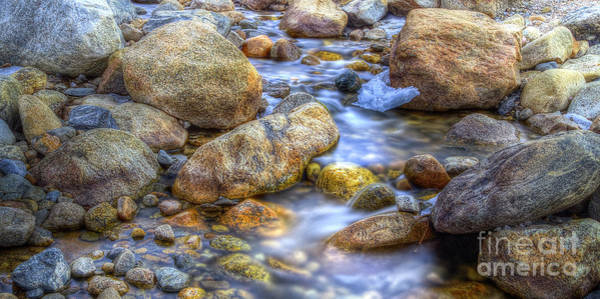 Wall Art - Photograph - Alluvial Fan Stream by Twenty Two North Photography