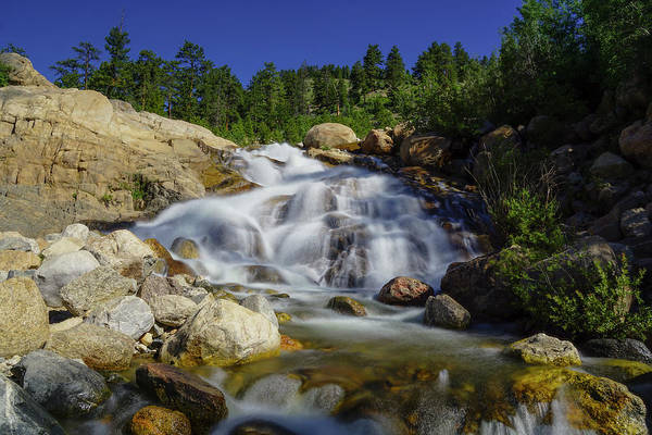 Photograph - Alluvial Sands Water Fall by Sean Allen