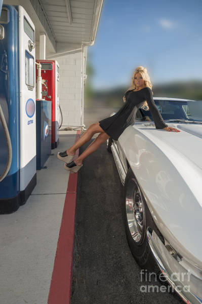 Photograph - Ally At The Service Station by Dan Friend
