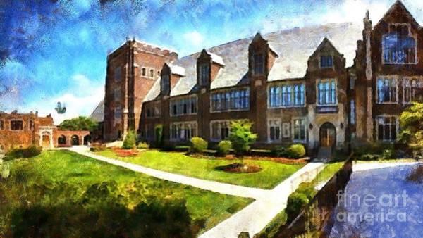 Digital Art - Alma Mater 2015 by Kathryn Strick