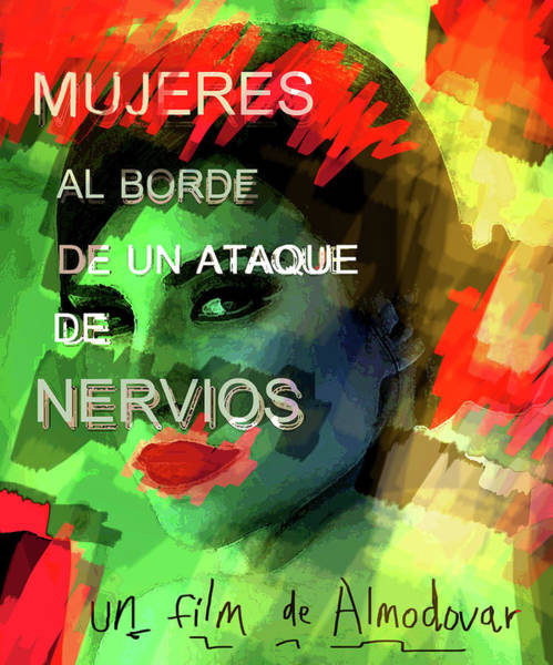 Mixed Media - Almodovar Movie Poster  by Paul Sutcliffe