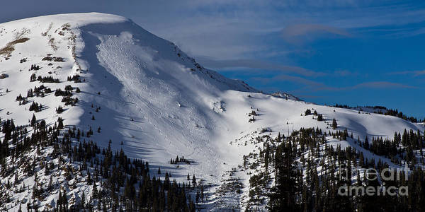 Arapahoe County Wall Art - Photograph - Almost First Tracks by Benjamin Reed
